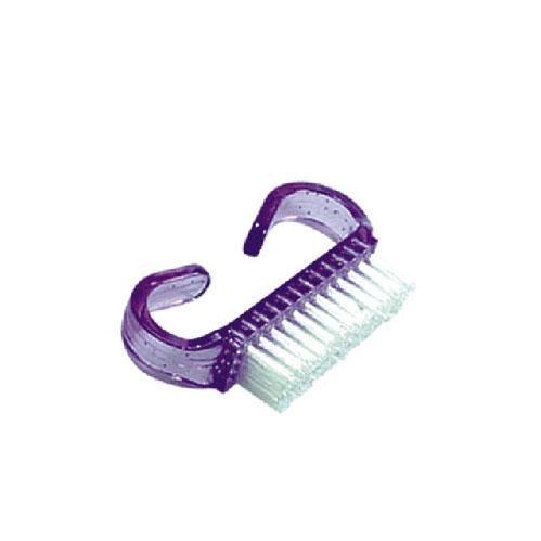 Kunststoffen nagel borstel, stofvrije nagels voor beste hechting van acryl / gel, gellakproducten.