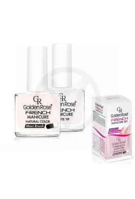 GOLDEN ROSE French manicure nagellak SET 02