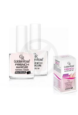 GOLDEN ROSE French manicure SET