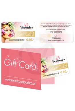 Gift Card nagelproducten 50€