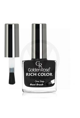 GOLDEN ROSE Rich Color zwarte nagellak 35