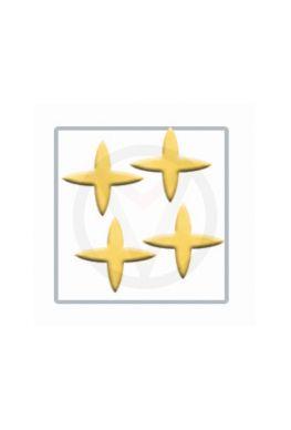 STER goud nail art inlay, nagelstickers 100 stuks