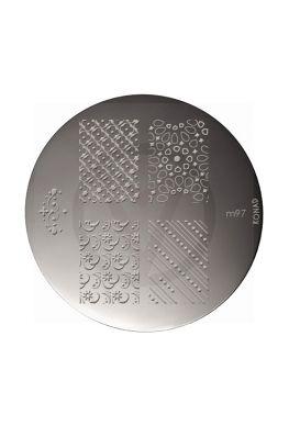 KONAD stamping plate M97