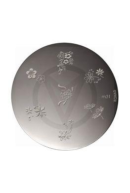 KONAD image plate M31 FLOWERS