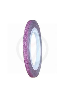 Striping tape GLITTER LICHT ROZE, 3 mm