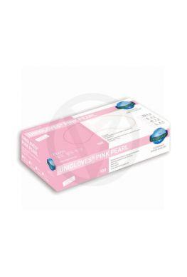Unigloves nitrile handschoenen PINK Pearl, maat S