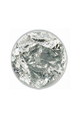 Nailart foil / nagel folie, zilver