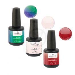 UV nagellak set, 3 kleuren naar keuze.