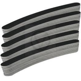 50 x boemerang nagel vijlen, zwart