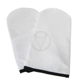 Badstof paraffine handschoenen