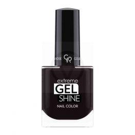 Golden Rose Extreme Gel Shine Nail Color, zwarte nagellak 74