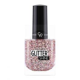 Golden Rose Extreme Glitter Shine Nail Color, mix glitter nagellak 209