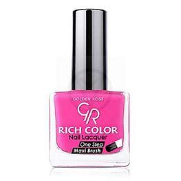 GOLDEN ROSE Rich Color neon roze nagellak 08