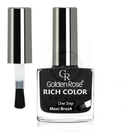 GOLDEN ROSE Rich Color zwarte nagellak 35