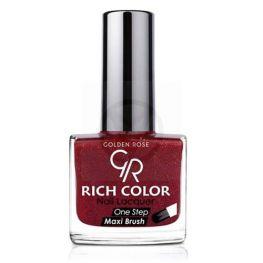 GOLDEN ROSE Rich Color glitter rood nagellak 45