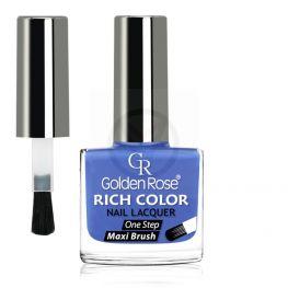 GOLDEN ROSE Rich Color blauwe nagellak 49