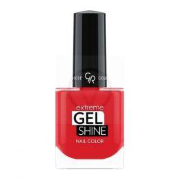 GR Extreme Gel Shine Nail Color 58 - Rood nagellak - Sneldrogend en glazend - Rode dekkende nagellak