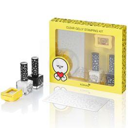 KONAD Barabapa clear gelly stamping kit ' HONEYMOON '