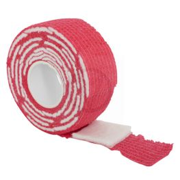 Gel polish remover wraps, rood