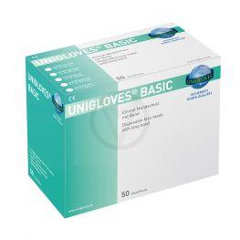 Unigloves chirurgische mondkapjes met koord WIT, 50 stuks in een doos