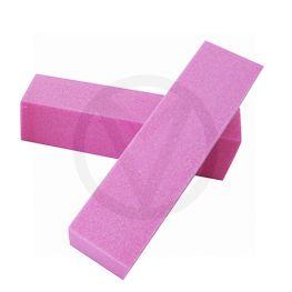 2x nagel buffer blok, roze