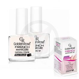 Golden Rose French manicure nagellak, set 02