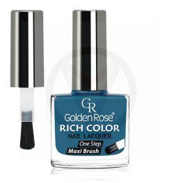 GOLDEN ROSE Rich Color blauwe nagellak 108