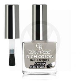 GOLDEN ROSE Rich Color grijze nagellak 113