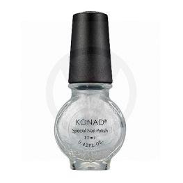 KONAD stempel nagellak ZILVER 03, 11 ml