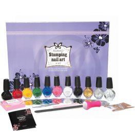 KONAD stamping nail art set A-SET