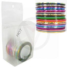 Striping tape pakket, liefst 34 kleuren!
