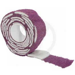 Gel nagellak remover wraps, paars