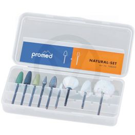 PROMED nagel frees bitjes set NATURAL, 10-delig
