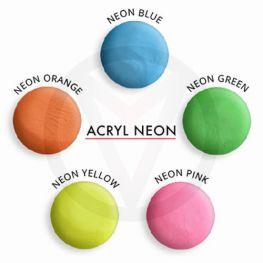 Neon acrylpoeder, 10 gram