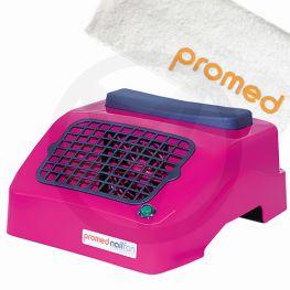 PROMED nagel afzuiger, ROZE. GRATIS PROMED handdoek!