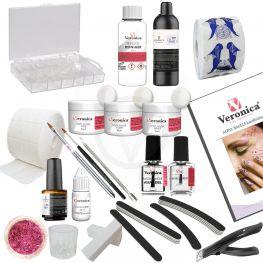 Kunstnagels - Acrylnagels starterspakket, starterset, beginnerspakket