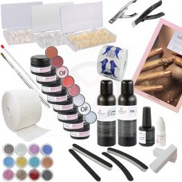 Gelnagels starterspakket, starter set EXCLUSIVE