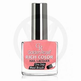 GOLDEN ROSE Rich Color zalmroze nagellak 64