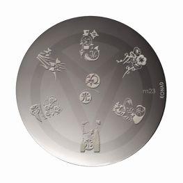 KONAD stamping plates M23