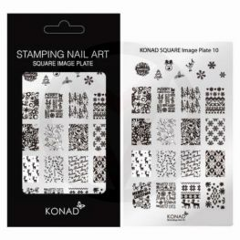KONAD stempelplaat nagels 10
