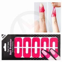 Latex vrije Nail Protector tape ROZE