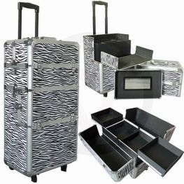Aluminium nagel trolley 3 in 1 ZEBRA