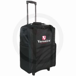 Nylon pedicure trolley, zwart