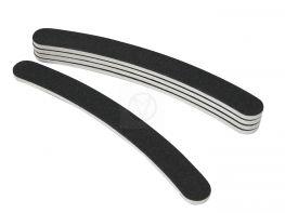 5x boemerang nagel vijl, zwart