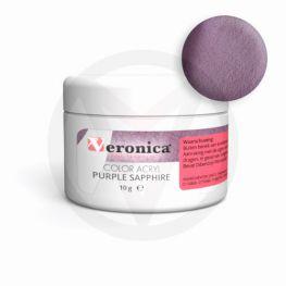 Color acryl poeder Purple Sapphire, 10 gram