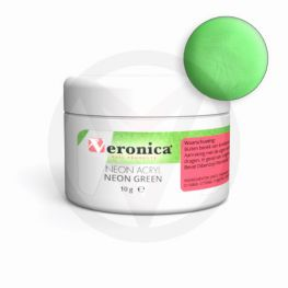 Neon acrylpoeder 10 gram, NEON GREEN