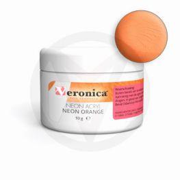 Neon acryl poeder NEON ORANGE, 10 gram