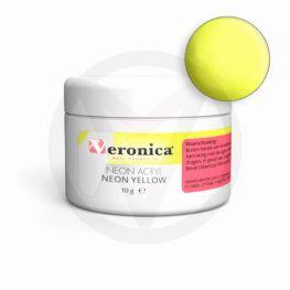 Neon acryl poeder NEON YELLOW, 10 gram