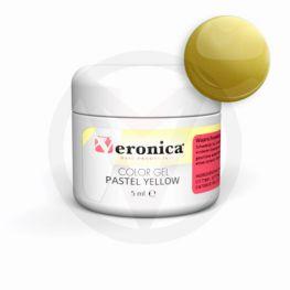 Nagel color gel PASTEL YELLOW, 5 ml
