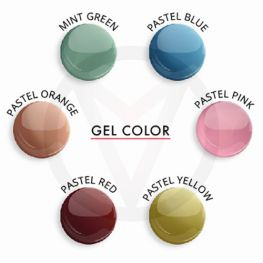 UV color gel PASTEL, 5 ml